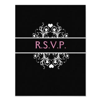 elegantes Hochzeit UAWG Karte