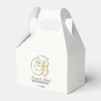 Elegantes Hochzeits-Geschenk des weißes Geschenkschachtel