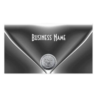 Elegantes Juwel-Chrom-Silber Visitenkarte