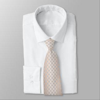 Elegantes Küken-Rosen-Goldpolka-Punkt-Muster-Grau Personalisierte Krawatten