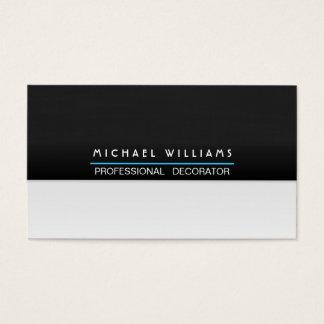 ELEGANTES MODERNES MINIMALISTISCHES Metall Visitenkarten