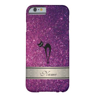 Elegantes niedliches girly trendy glittery barely there iPhone 6 hülle