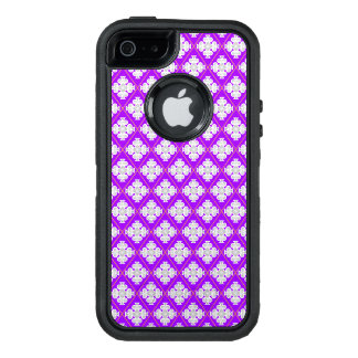 Elegantes retro Muster inspiriert durch quatrefoil OtterBox iPhone 5/5s/SE Hülle