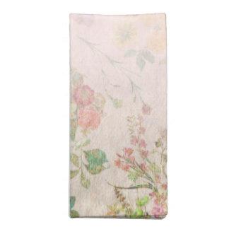 Elegantes rosa Hochzeits-Empfangs-Stoff-mit Stoffserviette
