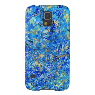Elegantes Seeblaues schönes Muster mit Spitze Galaxy S5 Cover