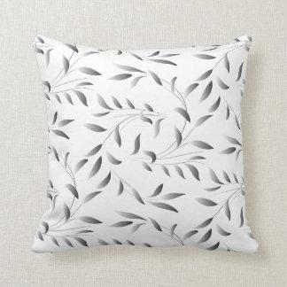 Elegantes Weide-Blatt-Muster Kissen