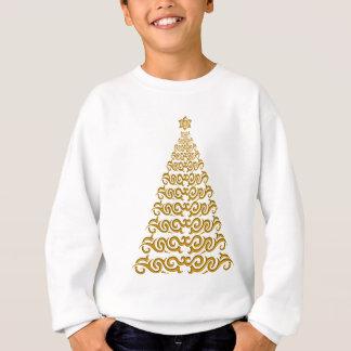 Elegantes Weihnachtsbaum-Shirt Sweatshirt
