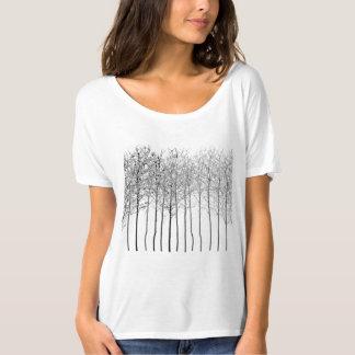 Eleganz des Holz-T - Shirt
