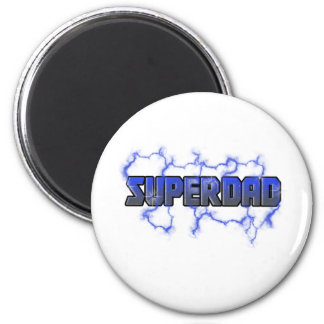 Elektrifizierendes Superdad Runder Magnet 5,1 Cm
