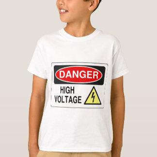 Elektriker-Gefahrenhochspannung T-Shirt