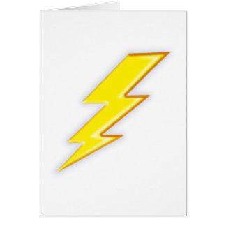 Elektrisch + Firma! Grußkarte