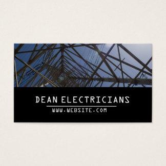 Elektrische Elektriker-Strom-Visitenkarte Visitenkarte