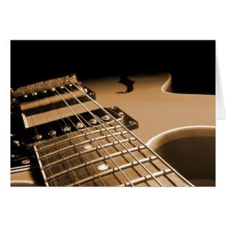 Elektrische Gitarren-nahes hohes - würzige Orange Karte