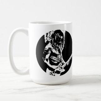Elektrische Gitarren-Spieler-Tasse Kaffeetasse