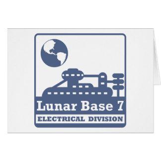 Elektrische Mondabteilung Karte