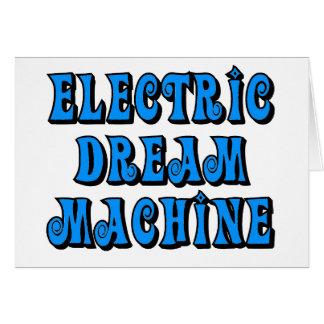 Elektrische Traummaschine Grußkarte