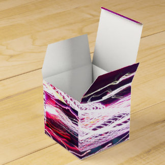 Elektrischer rosa Bevorzugungs-Kasten Geschenkschachtel