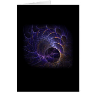 Elektrischer Sturm 01 Grußkarte