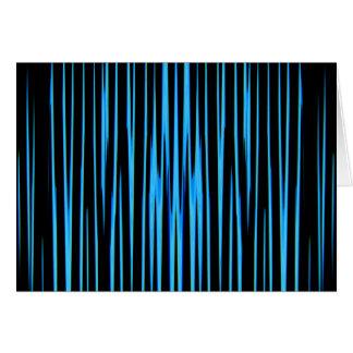 ELEKTRISCHES BLAUES FLIESE (ein abstrakter Grußkarte