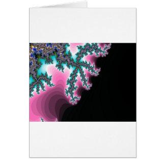 Elektrisches Eis Grußkarte