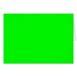 ELEKTRISCHES GRÜNES (eine feste elektrifizierende Grußkarte
