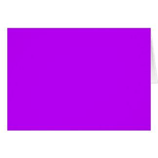 ELEKTRISCHES LILA (eine feste elektrifizierende Grußkarte