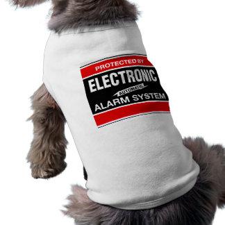 Elektronisches Warnungssystem-gewelltes Trägershir Shirt