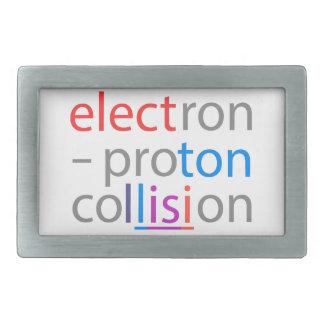 ElektronProton Rechteckige Gürtelschnalle