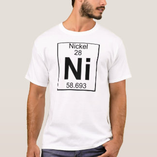 Element 028 - Ni - Nickel (voll) T-Shirt