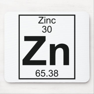 Element 030 - Zn - Zink (voll) Mousepads