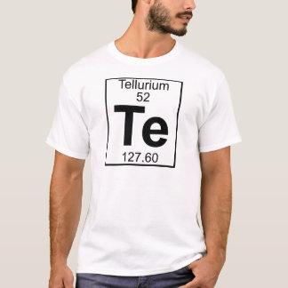 Element 052 - Te - Tellur (voll) T-Shirt
