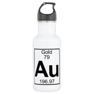 Element 079 - Au - Gold (voll) Trinkflasche