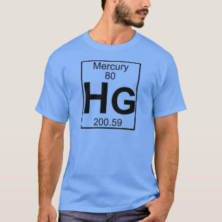 Element 080 - Hektogramme - Mercury (voll) T-Shirt