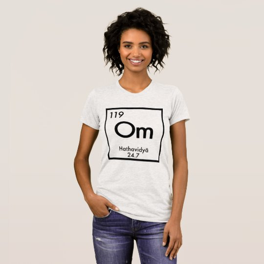 "Element des Yoga-""OM"" T-Shirt"