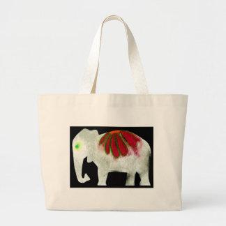Éléphant de flower power sacs