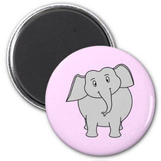Éléphant gris magnets pour réfrigérateur