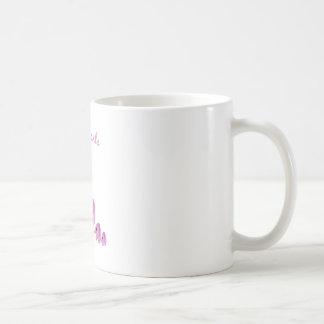 Éléphants roses mug à café