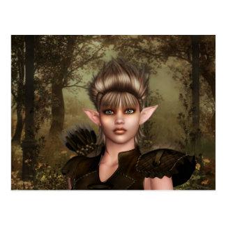 Elf-Holz Postkarte