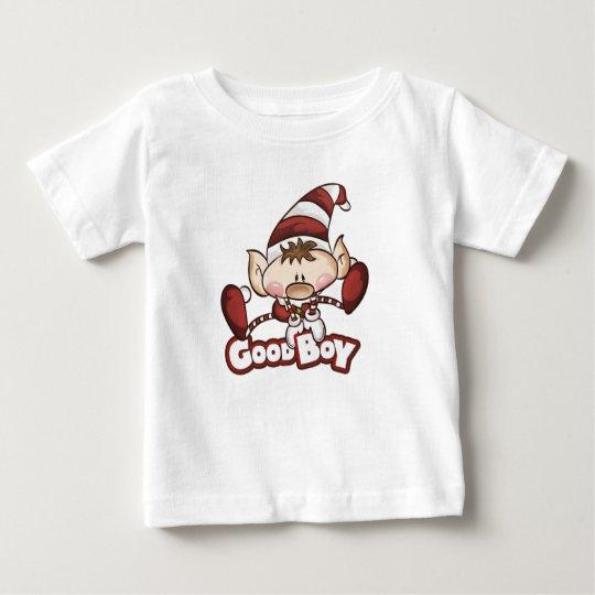 """Elf-Junge - """"guter Jungen-"""" Baby-T - Shirt"""