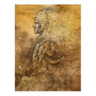 Elf-König Postkarte