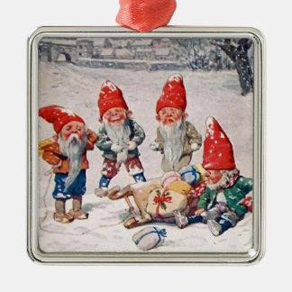 Elfe Silbernes Ornament
