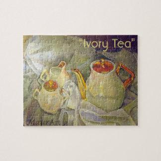 Elfenbein-Tee