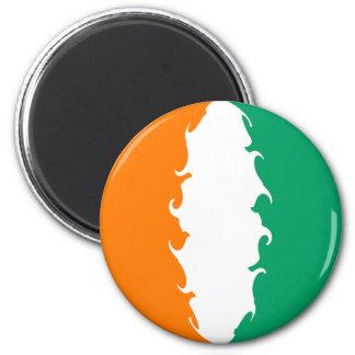 Elfenbeinküste-Gnarly Flagge Kühlschrankmagnet