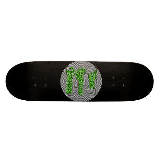 elia gewundene Logoplattform 21,6 Cm Skateboard Deck