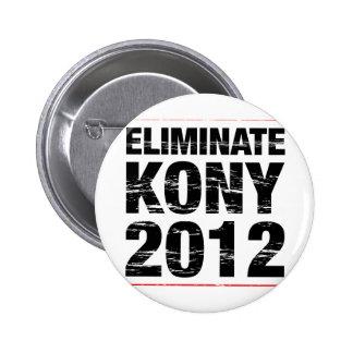 Éliminez Kony 2012 Badge Rond 5 Cm