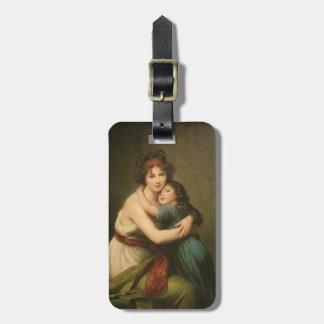 Elisabeth mit ihrer Tochter 1780-1819 Kofferanhänger