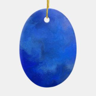 Elissima V1 - Unterwassergeschöpf Ovales Keramik Ornament