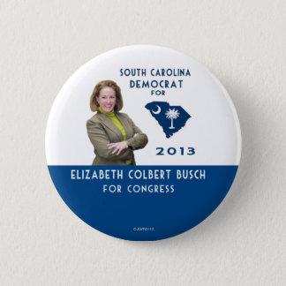 Elizabeth Colbert Busch für Kongreßknopf Runder Button 5,7 Cm
