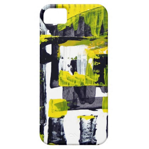 Elle-abstract-010-1620-Original-Abstract-Art-untit iPhone 5 Case