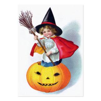 Ellen H. Clapsaddle : Peu de sorcière de Carte De Visite Grand Format